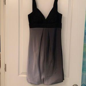 Silver ombré dress